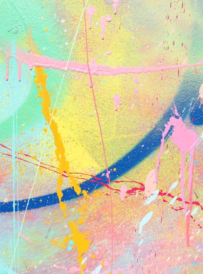spatter χρωμάτων στοκ εικόνες