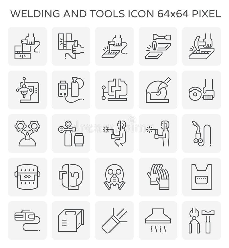 Spawać narzędzie ikonę ilustracji