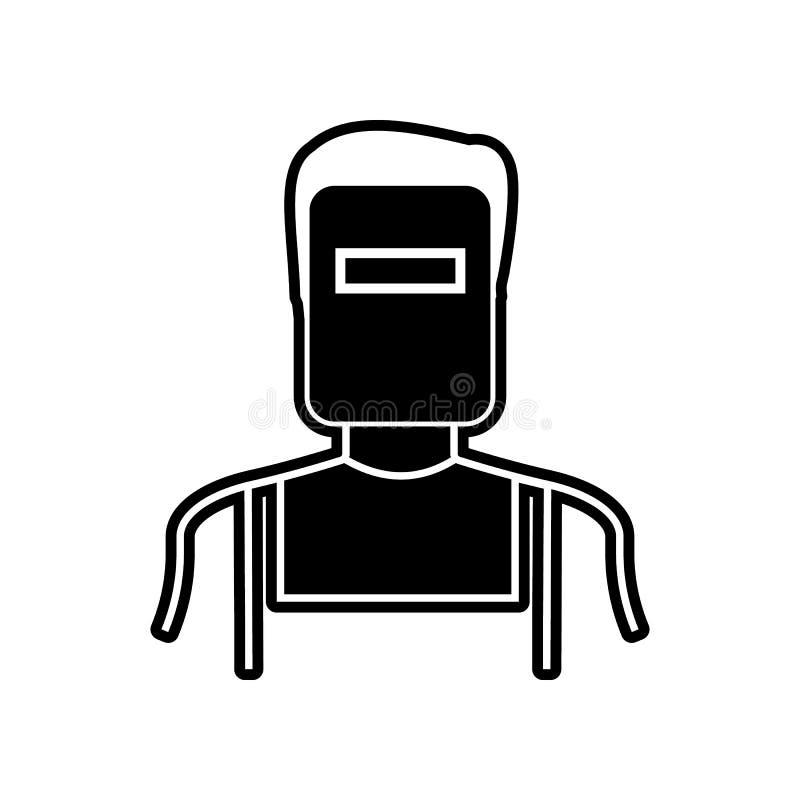 Spawacz ikona Element Proffecions dla mobilnego pojęcia i sieci apps ikony Glif, płaska ikona dla strona internetowa projekta i r ilustracji