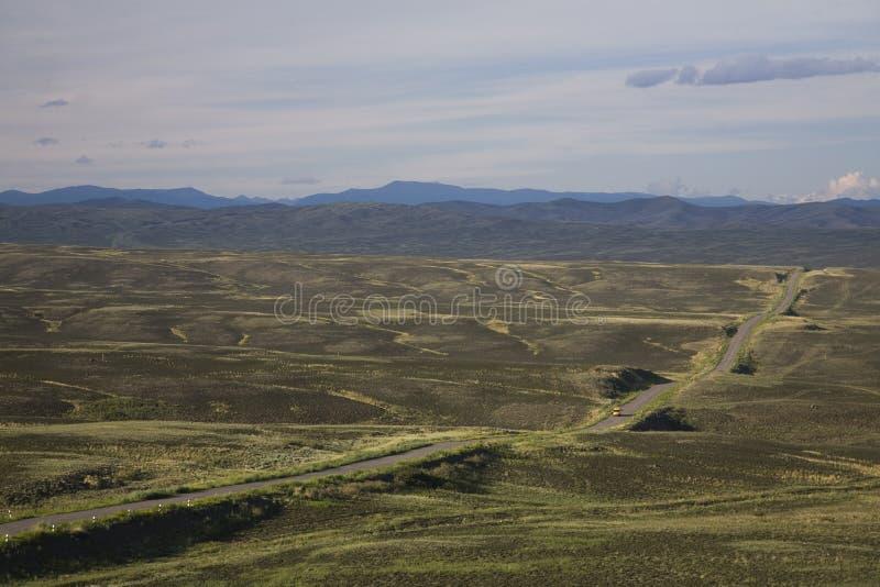 Spazi all'aperto della Repubblica di Tuva fotografie stock libere da diritti