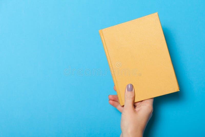 Spazio in bianco del vecchio libro, rivista Libro antico della carta d'annata Copi lo spazio per testo immagini stock libere da diritti