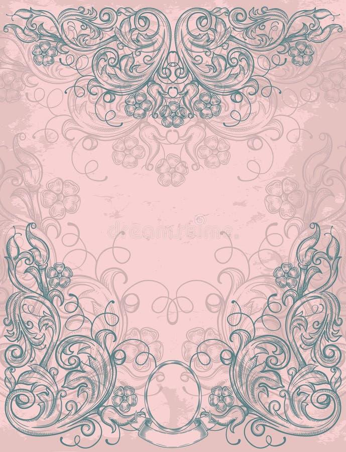 Spazio in bianco dell'annata royalty illustrazione gratis