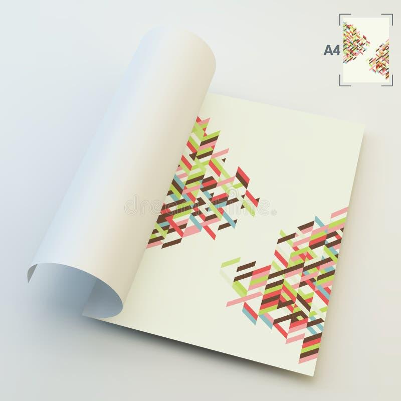 Download Spazio In Bianco Di Affari A4 Illustrazione Astratta Di Vettore Illustrazione Vettoriale - Illustrazione di libretto, vendita: 56888566