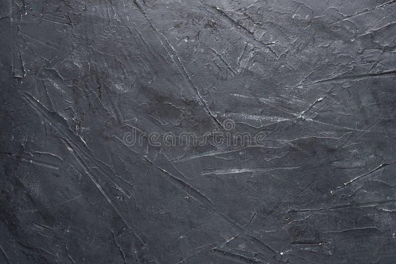Spazio in bianco puro vuoto scuro del cemento del fondo del modello concreto blu grigio di struttura immagine stock