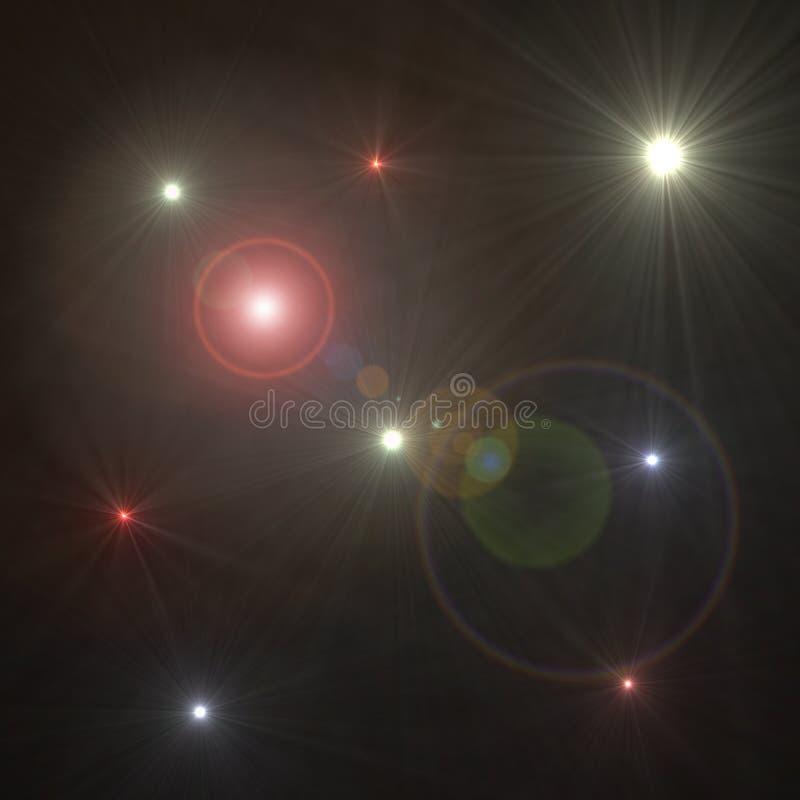 Spazio cosmico illustrazione di stock