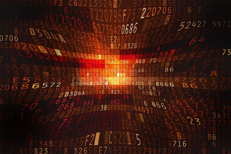 Spazio cyber illustrazione vettoriale