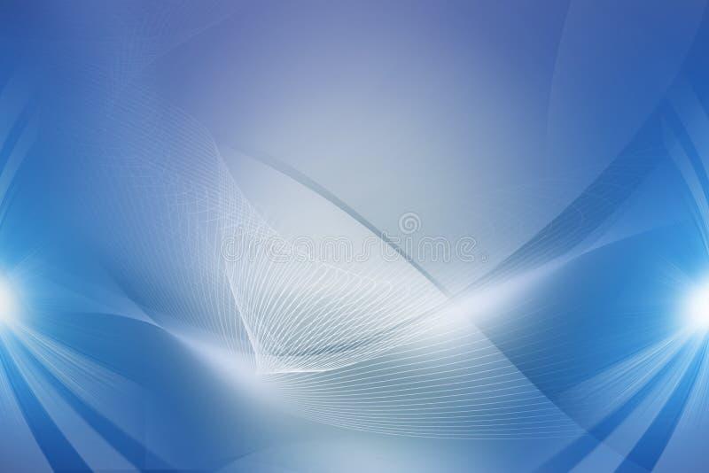 Spazio digitale blu