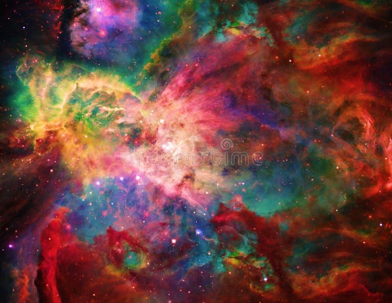 Spazio galattico illustrazione vettoriale