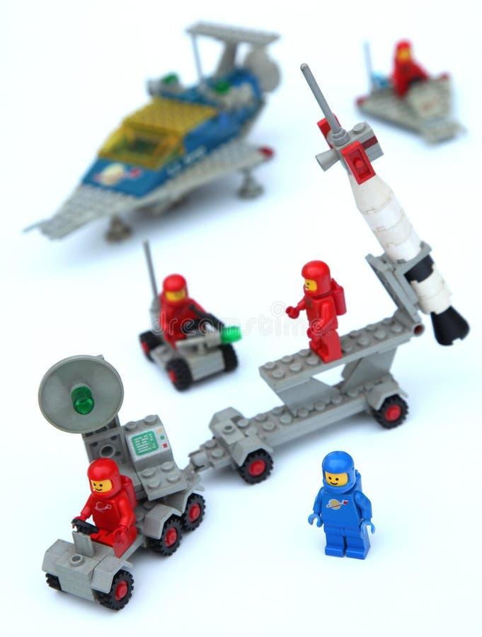 Spazio Lego immagini stock libere da diritti