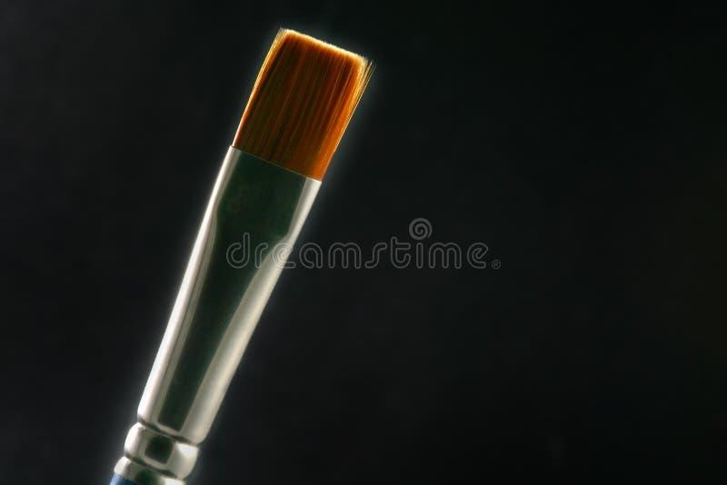 Spazzola contro indicatore luminoso immagine stock