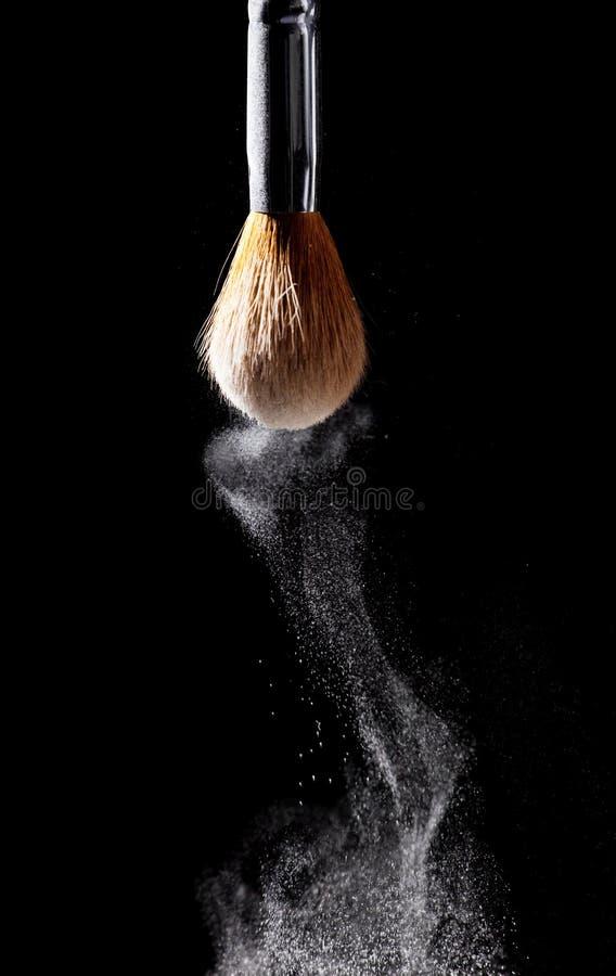 Spazzola della polvere immagine stock