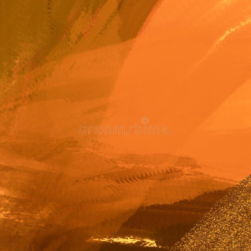 Spazzoli il materiale illustrativo dei colpi Fondo vibrante Grungy Materiale illustrativo della stampa della tela immagine stock