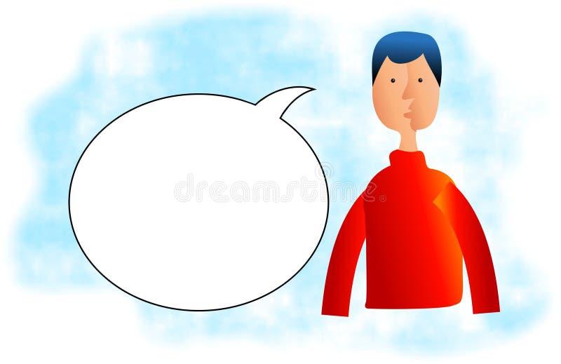 Speak vector illustration