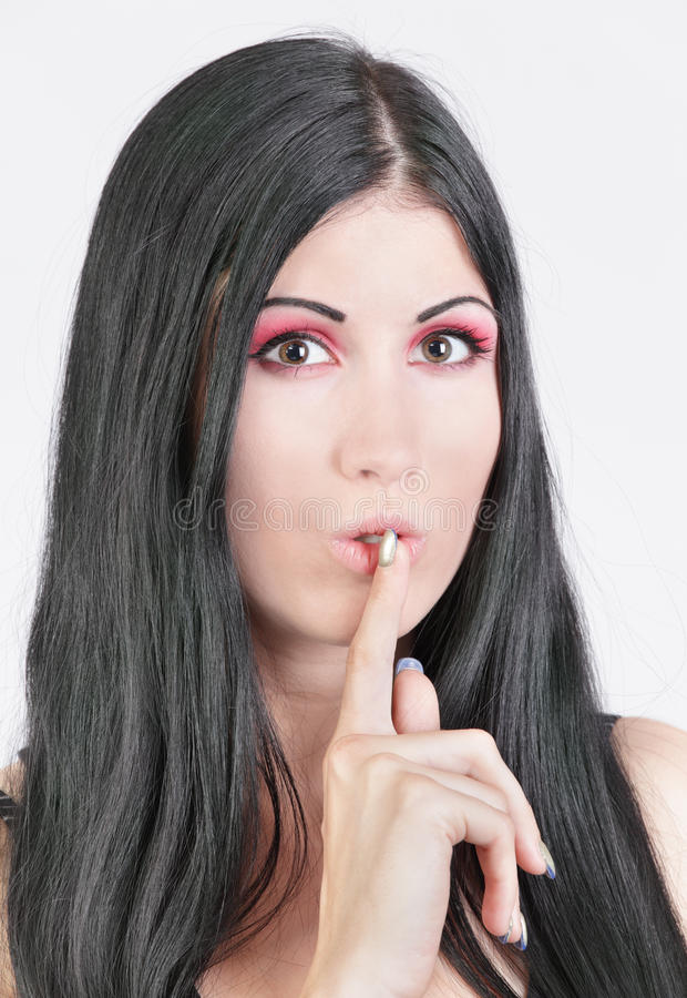 Download Speak no evil stock image. Image of hushing, gossip, secrecy - 22783831