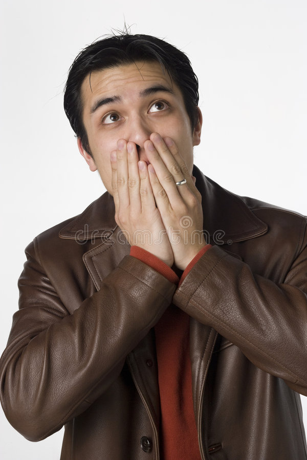 Download Speak no Evil stock photo. Image of humorous, filipino - 7402600