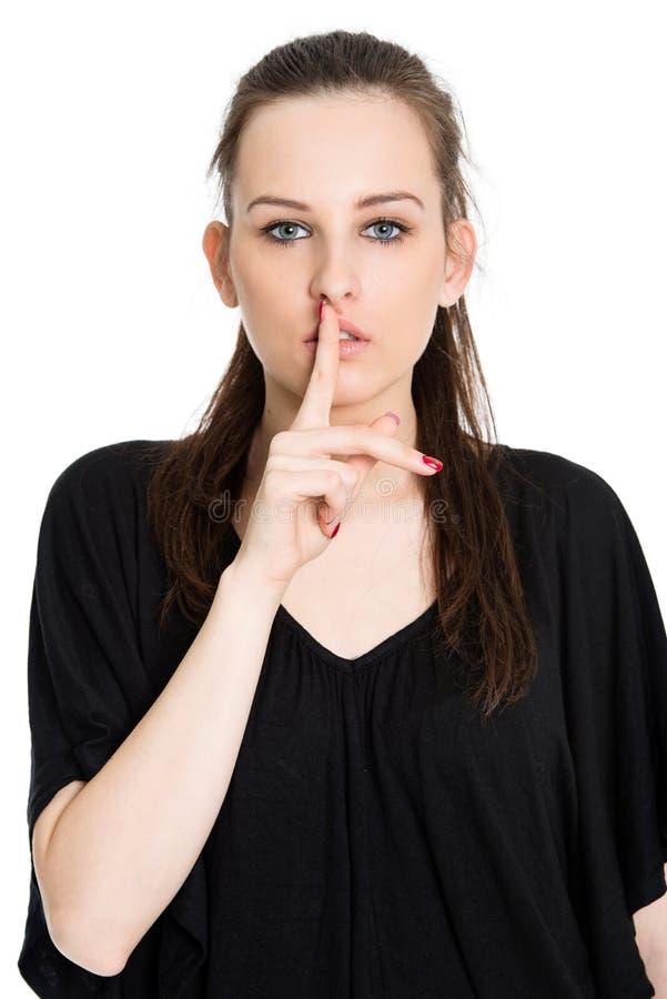 Download Speak no evil stock image. Image of caucasian, female - 30037637