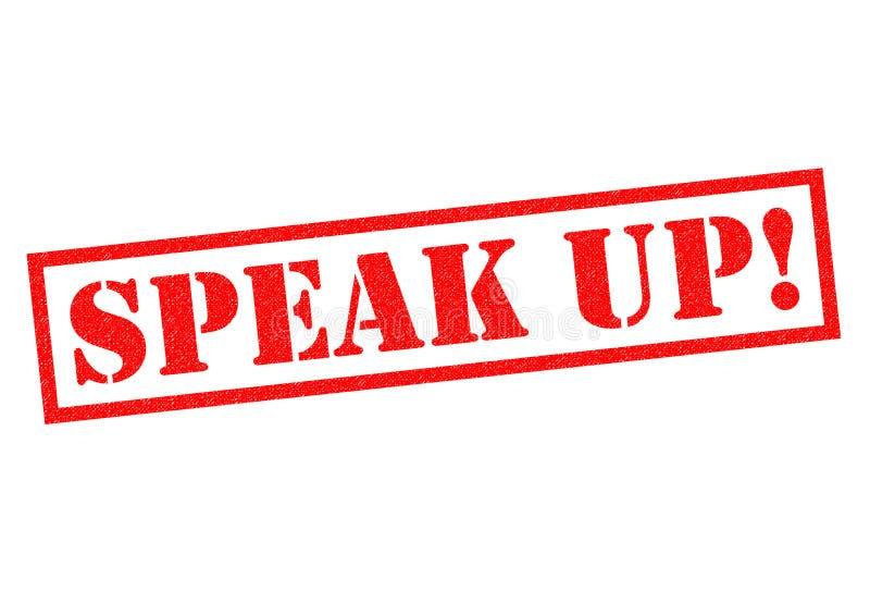 SPEAK UP! vector illustration