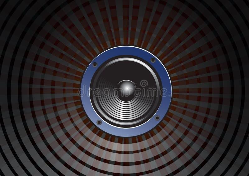 Speaker vector illustration