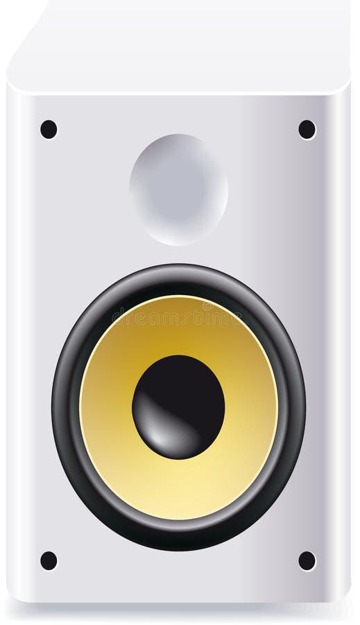 Download Speaker stock illustration. Illustration of play, digital - 16227539