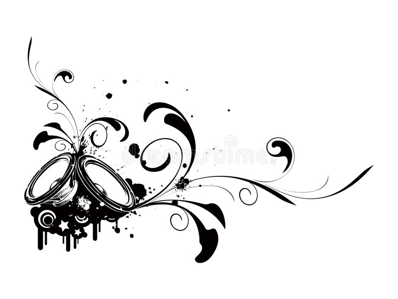 Download Speaker stock vector. Image of jumping, audio, cool, club - 3575263