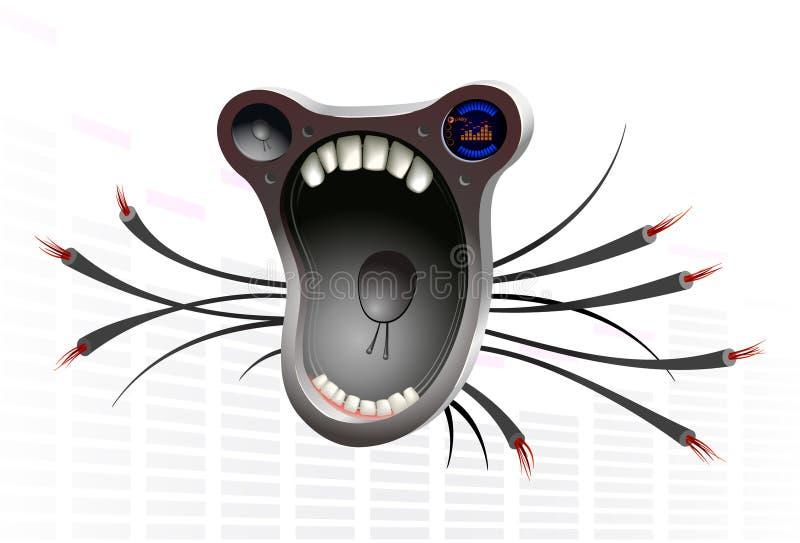 Download Speaker stock vector. Image of dirty, audio, equipment - 5315828