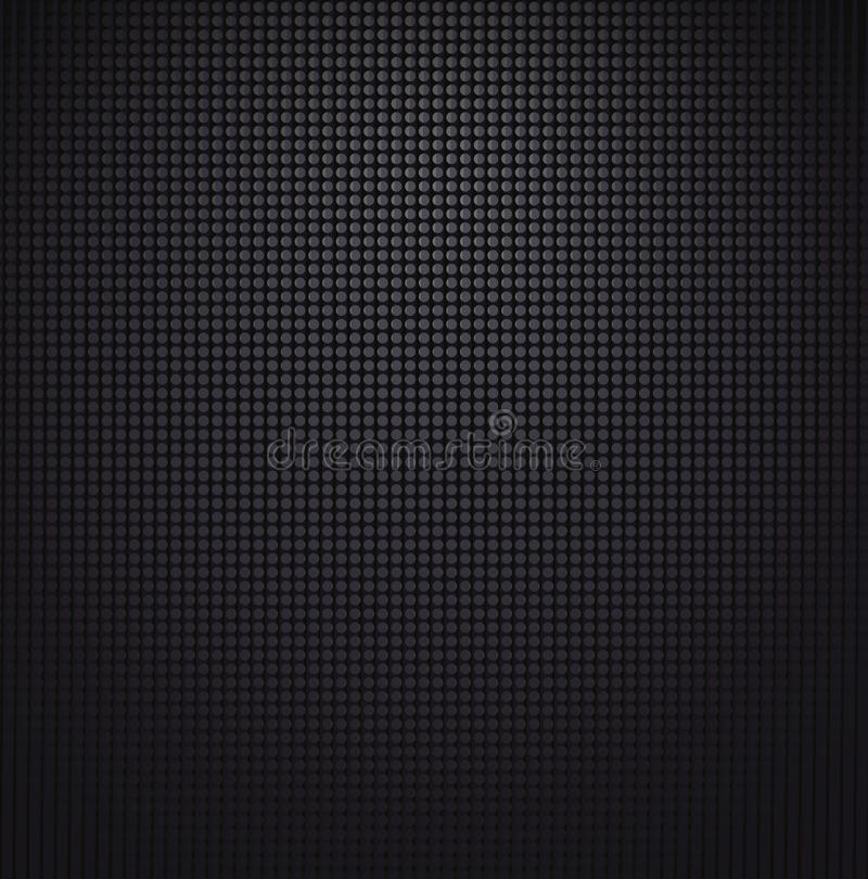 Speaker grill texture. Vector stock illustration