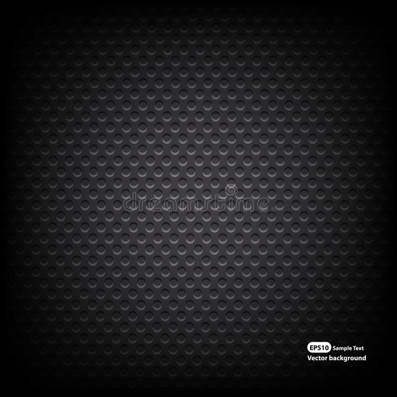 Speaker grill texture. Vector Illustration. Is a general illustration stock illustration