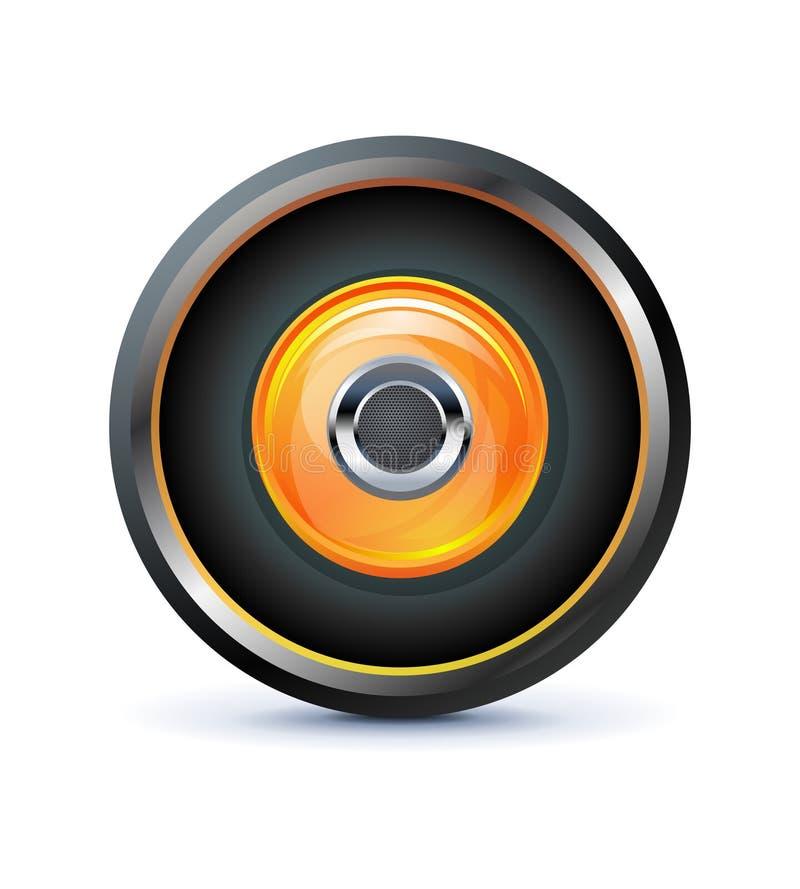 Download Speaker icon stock vector. Illustration of internet, icon - 19741685