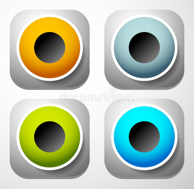 Speaker icon for audio, music related themes. Royalty free vector illustration vector illustration
