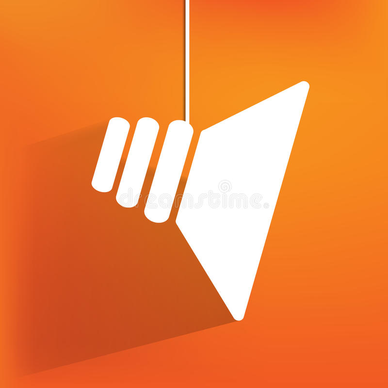Speaker icon, flat design vector illustration