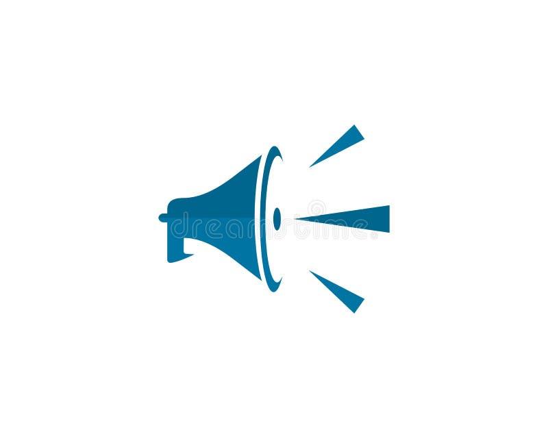 speaker logo stock illustration