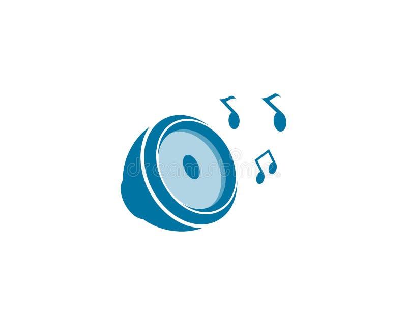 speaker logo vector illustration