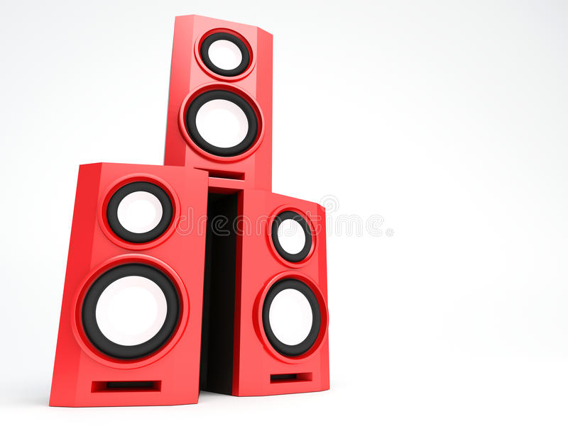 Download Speaker, Loudspeaker, Woofer, Speakerbox Stock Illustration - Image: 11288122