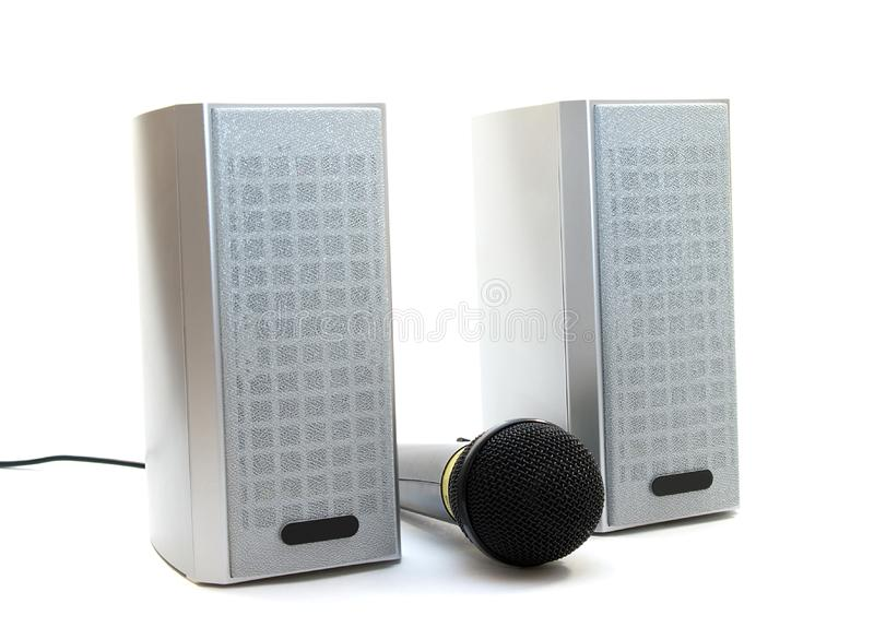 Download Speaker and microphone stock photo. Image of chrome, rock - 5142956