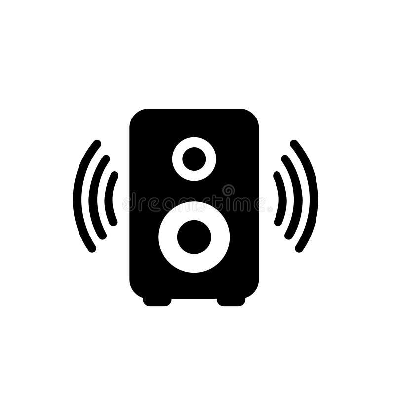 Speaker vector icon , sound illustration symbol. bass logo or sign. vector illustration