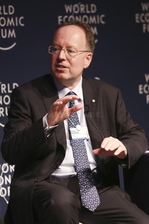 Speaker At World Economic Forum Free Public Domain Cc0 Image
