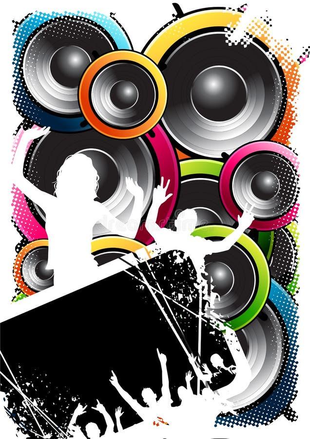 Speakerbox Masse stock abbildung