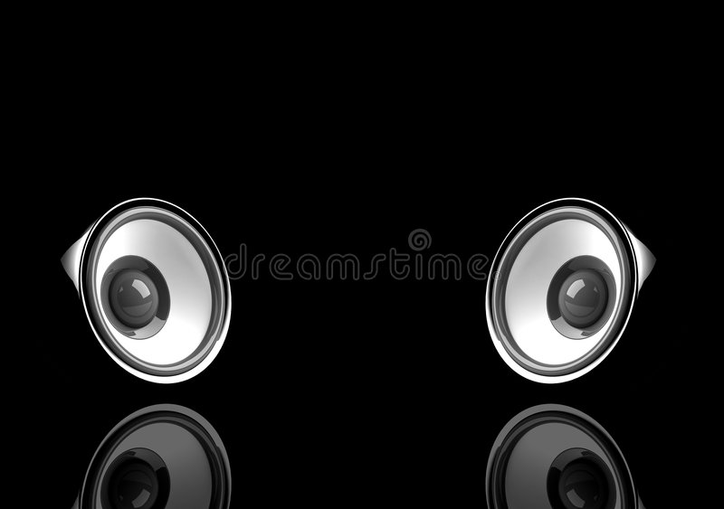 Download Speakers stock illustration. Image of speakers, graphic - 6077054