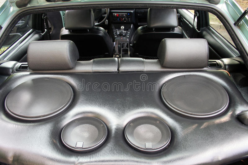speakers in the car stock photo image of auto battery 30879850. Black Bedroom Furniture Sets. Home Design Ideas