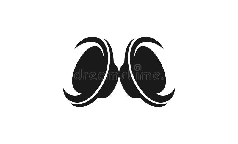 speakers design logo vector illustration