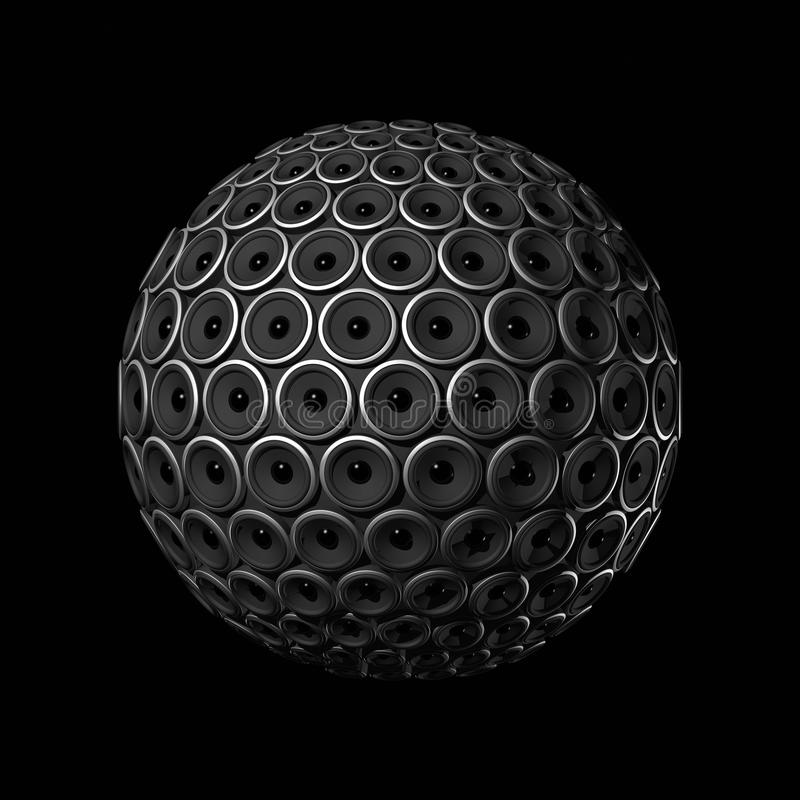 Speakers sphere