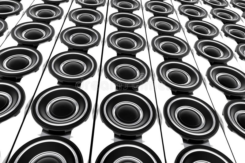 Download Speakers Wall Stock Images - Image: 24709024