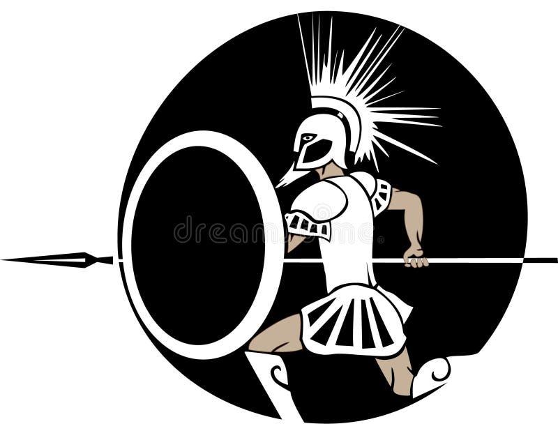 Spear royalty-vrije illustratie