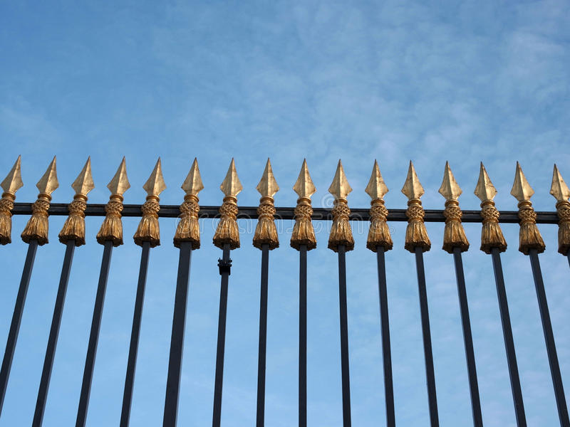Download Spear Head Property Railings Stock Photo - Image: 20463852