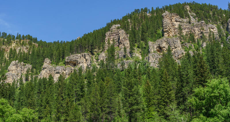 Spearfish-Schlucht stockbilder