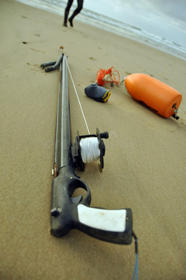spearfishing fotografia royalty free