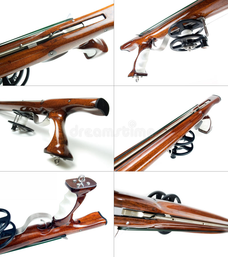 Speargun Rear Stock Images