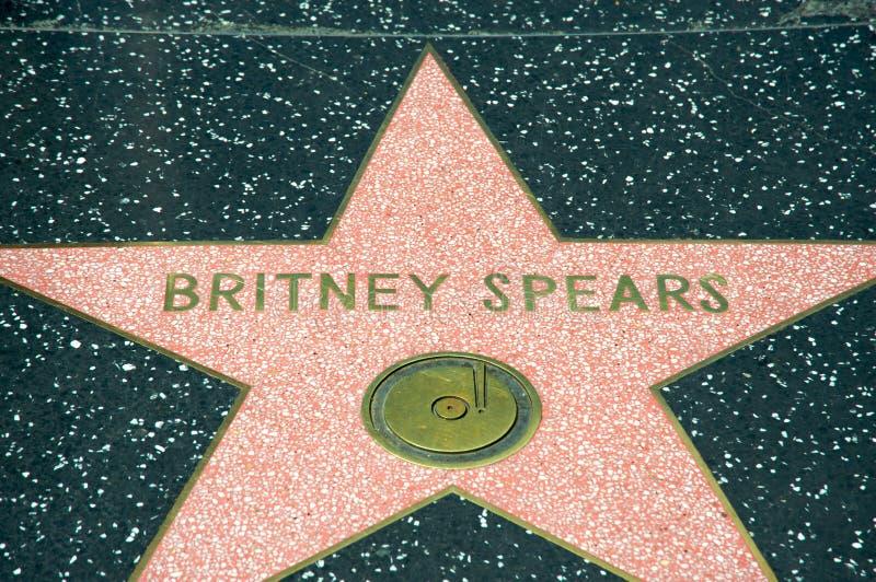 Spears van Britney royalty-vrije stock foto's