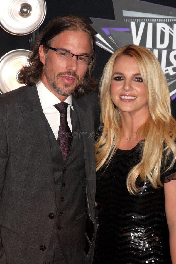 Spears van Britney, Jason Trawick royalty-vrije stock afbeelding