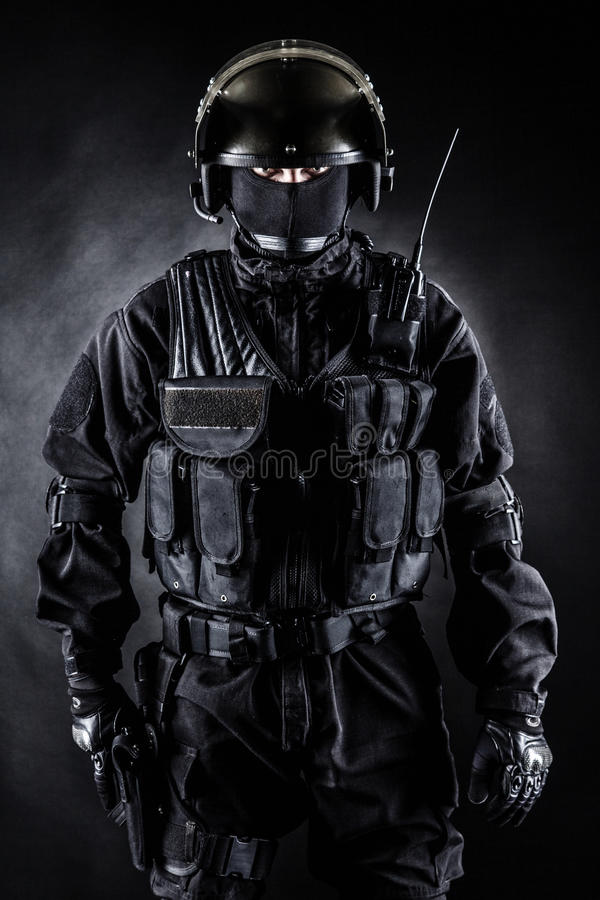 Spec ops royalty free stock photography